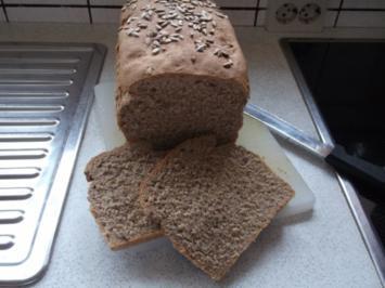 Weizenvollkornbrot - Rezept