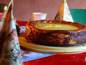 Käse-Mascapone Kuchen - Rezept
