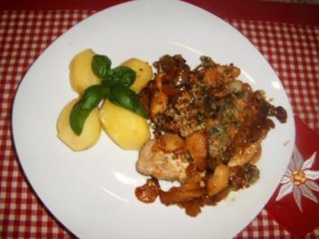 Apfel-Zwiebel-Kotelett - Rezept