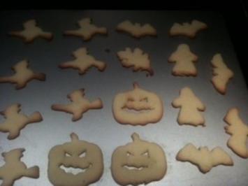 Rezept: Halloweenplätzchen
