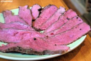 Roastbeef niedrig gegart - Rezept