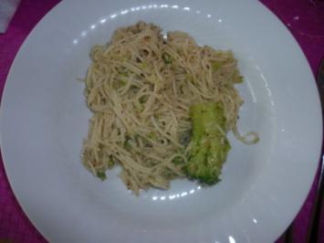 Rezept: Linguine mit Wallnuss-Salsa und Brokkoli