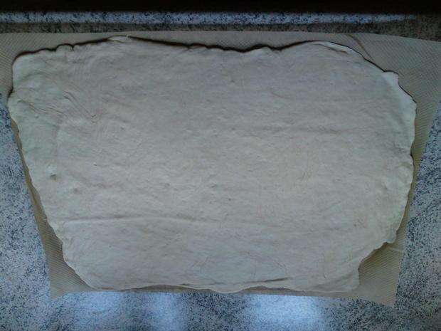 Mannis Backblech lockerer Pizzateig  (ausführliche Anleitung) - Rezept - Bild Nr. 6133