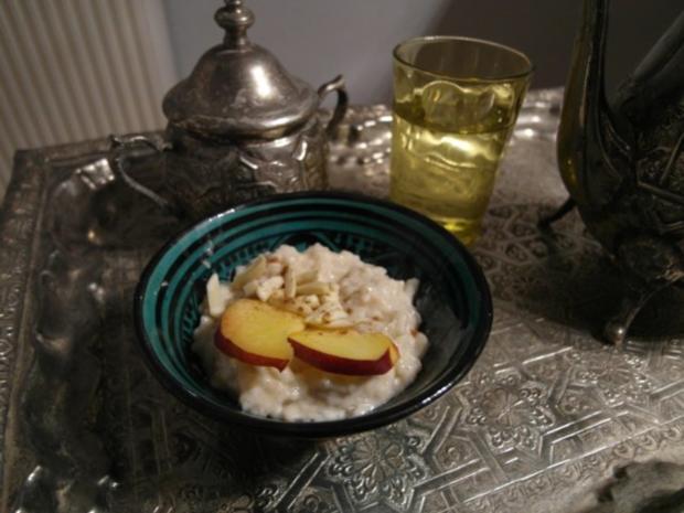 Marokkanischer Reispudding mit Kardamom - Rezept