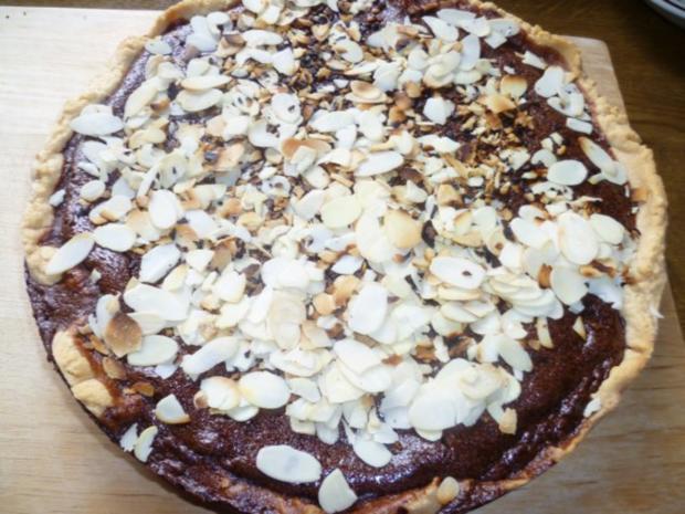 Mandel-Schokoladentorte - Rezept