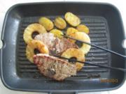 Lamm-Koteletts mit Ananas und Rosmarin-Kartoffeln - Rezept