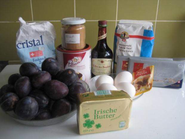 Zwetschgen Rotwein Schoko Kuchen - Rezept - Bild Nr. 6