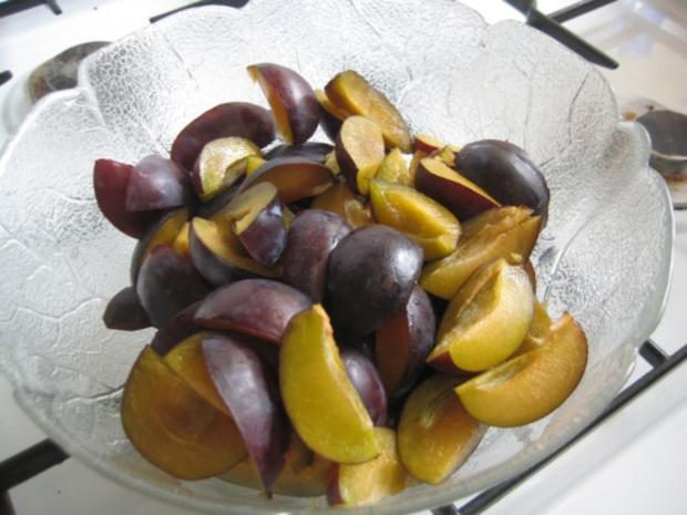 Zwetschgen Rotwein Schoko Kuchen - Rezept - Bild Nr. 11