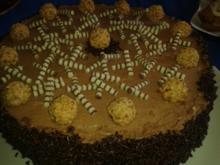 Schokoladen-Buttercreme-Torte - Rezept