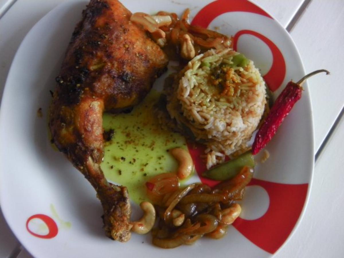 Den vestindiske kylling - indisches Curryhühnchen - Rezept von dogeckhard