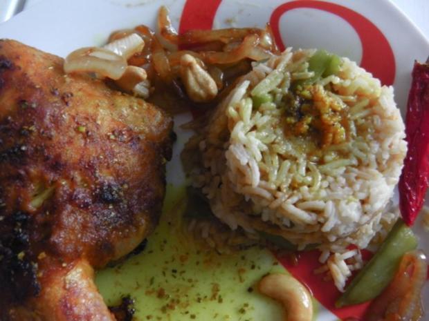 Den vestindiske kylling - indisches Curryhühnchen - Rezept - Bild Nr. 2