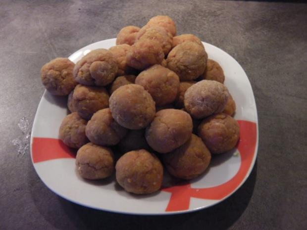 indiske Kødboller - kleine indische Fleischbällchen - Rezept - Bild Nr. 2