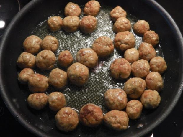indiske Kødboller - kleine indische Fleischbällchen - Rezept - Bild Nr. 3
