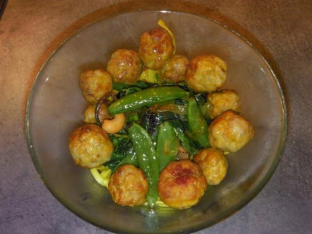 indiske Kødboller - kleine indische Fleischbällchen - Rezept - Bild Nr. 4