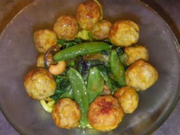 Rezept: indiske Kødboller - kleine indische Fleischbällchen