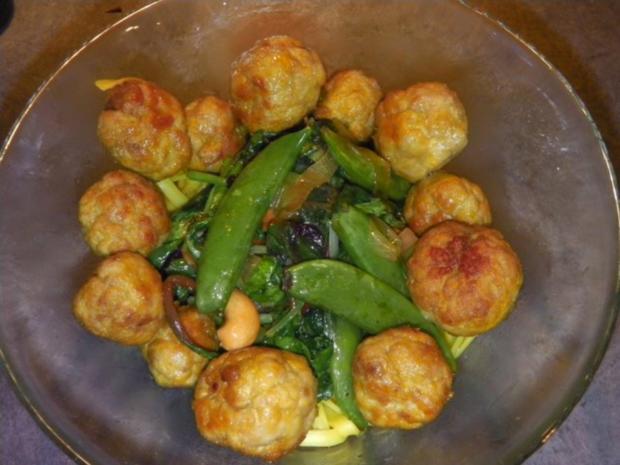 indiske Kødboller - kleine indische Fleischbällchen - Rezept - Bild Nr. 5