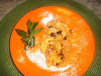 Rezept: Polenta-Apfel-Schmarren
