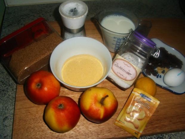 Polenta-Apfel-Schmarren - Rezept - Bild Nr. 2