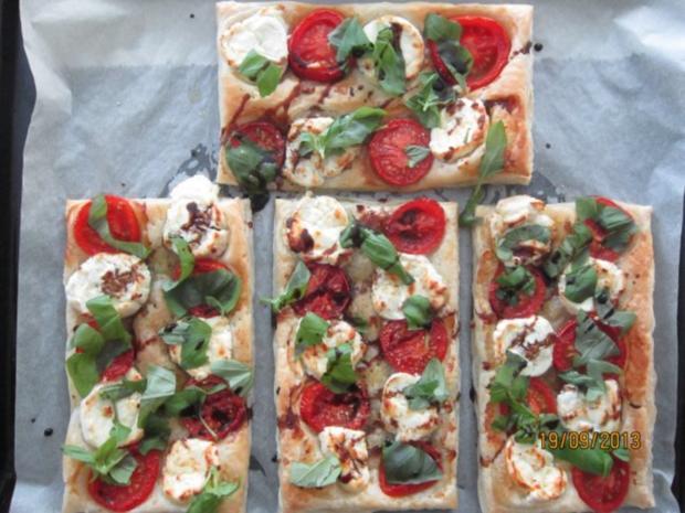 Blitz-Pizza - Rezept