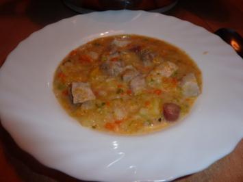 Suppen: Kartoffel-Steckrübensuppe - Rezept
