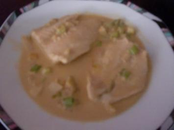 Rezept: Pangasius in pikanter Kokosmilch