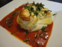 cremige Tomaten Sauce - Rezept