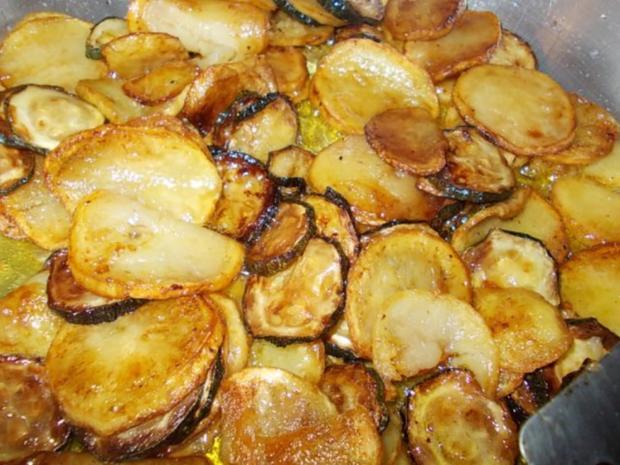 Essig Kartoffeln mit Zucchini - Rezept - Bild Nr. 7
