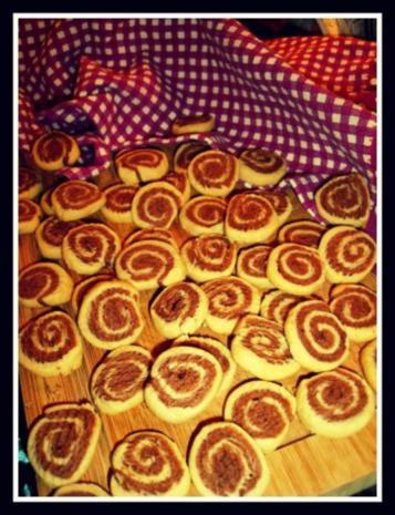 Marzipan-Schoko-Spiralenkekse - Rezept