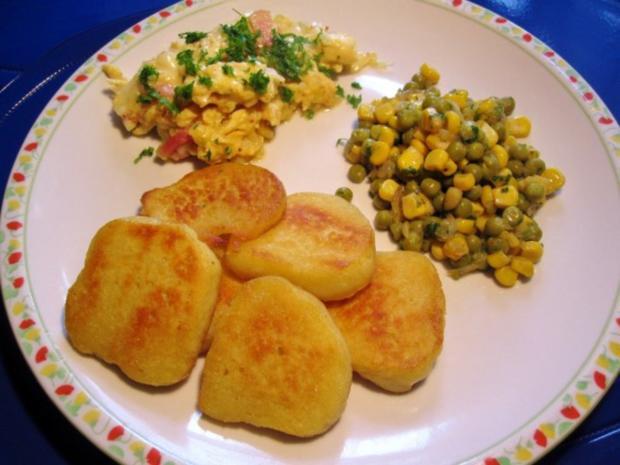 Gemüse aus Mais mit grünen Erbsen - Rezept - Bild Nr. 5