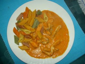 Geschnetzeltes mit Paprika - Rezept