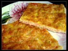 Pikanter Räucherlachs-Kuchen - Rezept