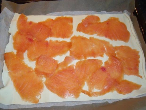 Pikanter Räucherlachs-Kuchen - Rezept - Bild Nr. 2