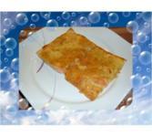 Pikanter Räucherlachs-Kuchen - Rezept - Bild Nr. 3