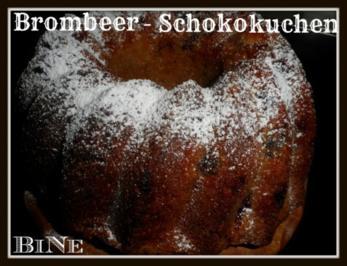 BiNe` S BROMBEER - SCHOKOKUCHEN - Rezept