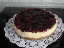 New York Cheesecake mit gemischten Beeren - Rezept