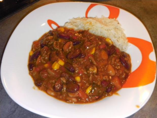 Kessel: feuriges Chili con Carne - Rezept - Bild Nr. 2