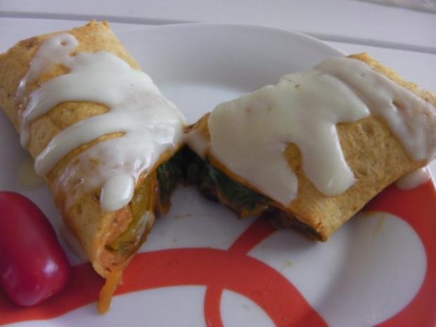 Burrito auf Enchilada Art - Rezept - Bild Nr. 12