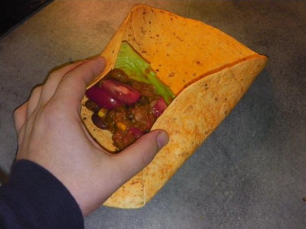 Burrito auf Enchilada Art - Rezept - Bild Nr. 3