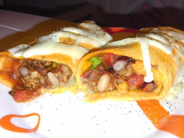 Burrito auf Enchilada Art - Rezept - Bild Nr. 11