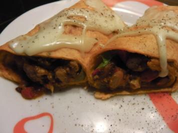 Burrito auf Enchilada Art - Rezept