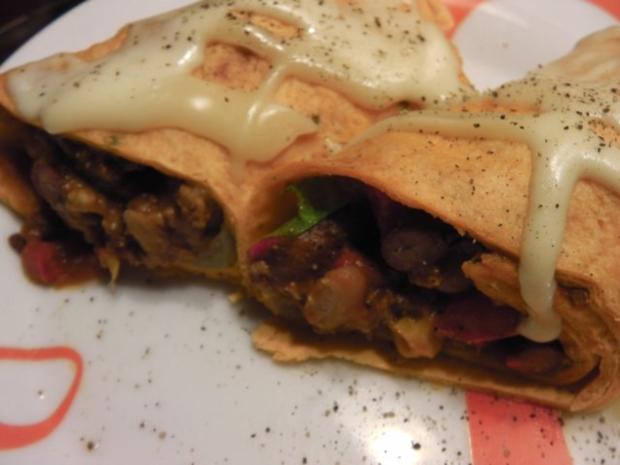 Burrito auf Enchilada Art - Rezept - Bild Nr. 13