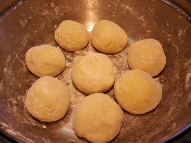 Schlesische Kartoffelklöße... - Rezept - Bild Nr. 7