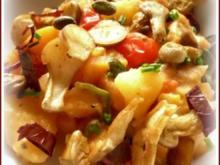 Scharfes Kartoffel-Kürbis-Ragout - Rezept