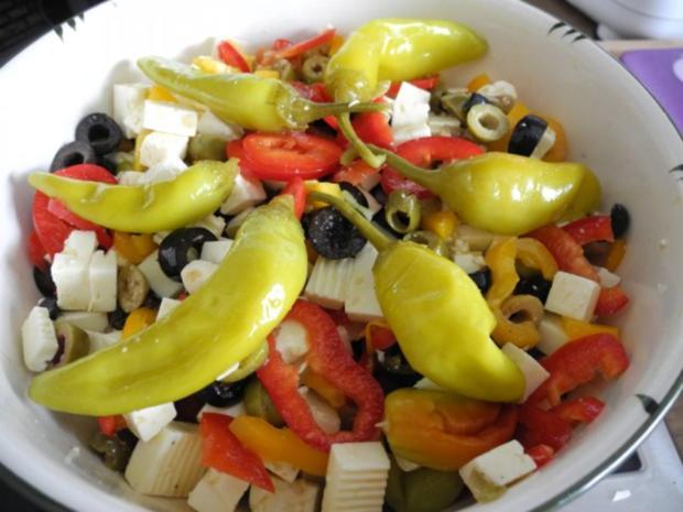 Salat : Hirtensalat - Rezept