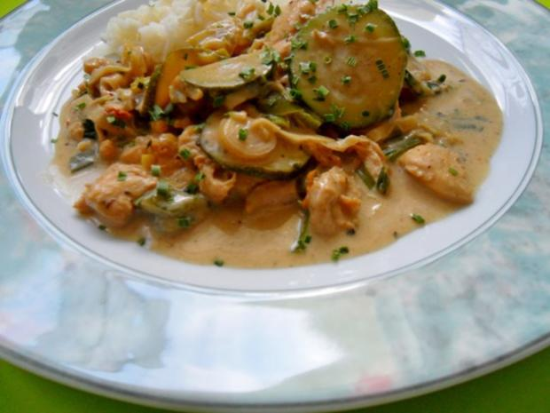 Thai-Green-Curry mit Vanille - Rezept