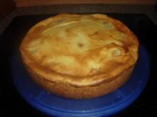 Birnenkuchen mit Schmandguss - Rezept