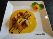 Kürbis Curry mit Creme Sauce - Rezept