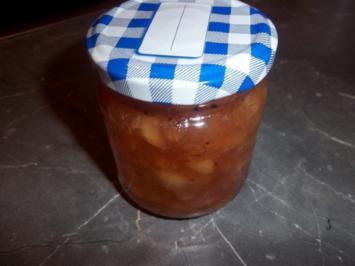 Pfirsich-Kiwi Marmelade - Rezept