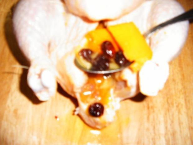 Hähnchen mit Kürbisfüllung - Rezept - Bild Nr. 8