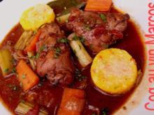 Coq au vin Marcos - Rezept